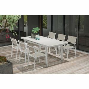Súprava 4 záhradných stoličiek a rozkladacieho jedálenského stola Ezeis Carioca