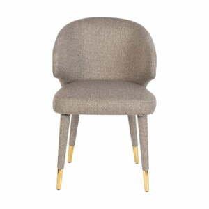 Béžová jedálenská stolička Dutchbone Lunar