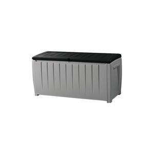 Sivý záhradný úložný box Keter, 55 x 63 cm