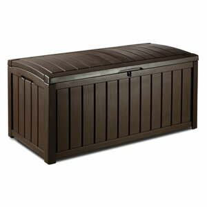 Hnedý záhradný úložný box Keter, 65 x 61 cm