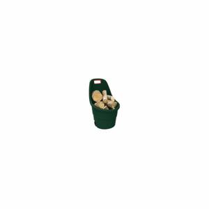 Čierny záhradný odpadkový kôš na kolieskach Keter, 55 l