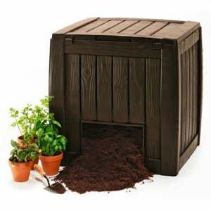 Hnedý záhradný kompostér Keter