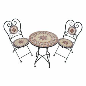 Set 2 záhradných stoličiek a stolíka ADDU Amarillo