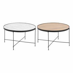 Konferenčný stolík s obojstrannou doskou Actona Andovre, ø 70 cm