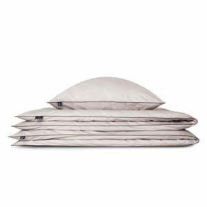 Svetlosivý bavlnený poťah na vankúš WeLoveBeds Perla, 70 x 80 cm