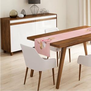 Behúň na stôl Minimalist Cushion Covers Pink Ballon, 140 x 45 cm