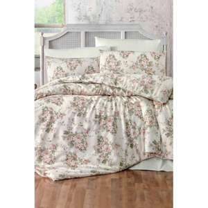 Obliečky na jednolôžko s plachtou Pure Cotton Miray, 160 x 220 cm