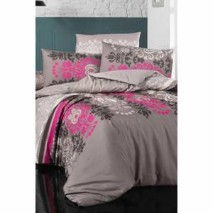 Obliečky na jednolôžko s plachtou Pure Cotton Diana, 160 x 220 cm