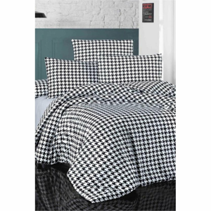 Obliečky na jednolôžko s plachtou Pure Cotton Pearl, 160 x 220 cm