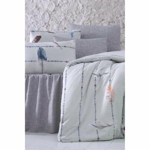 Obliečky na jednolôžko s plachtou Pure Cotton Pero, 160 x 220 cm