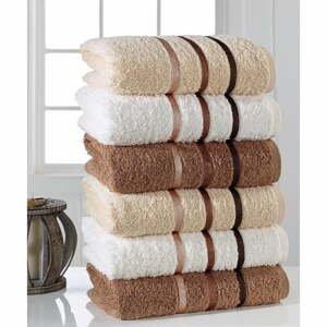 Súprava 6 uterákov Pure Cotton Towel, 50 x 90 cm