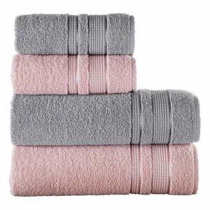 Súprava 4 uterákov Pure Cotton Ipeksi