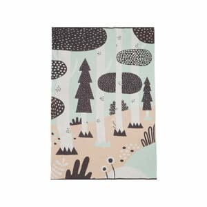 Detský bavlnený pléd Södahl Magic Forest, 100 x 150 cm