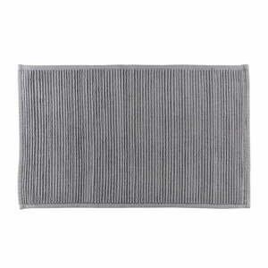 Sivá kúpeľňová predložka z bavlny Södahl, 50x80cm