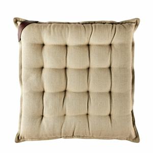 Béžový bavlnený sedák Södahl, 40x40cm