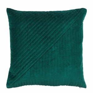 Zelený bavlnený vankúš Södahl Lilly, 50x50cm