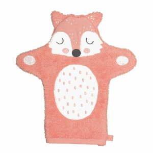 Detská rukavica na umývanie z froté bavlny Södahl Fox