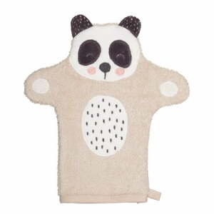 Detská rukavica na umývanie z froté bavlny Södahl Panda