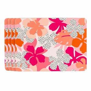 Ružovo-oranžové prestieranie Navigate Floral