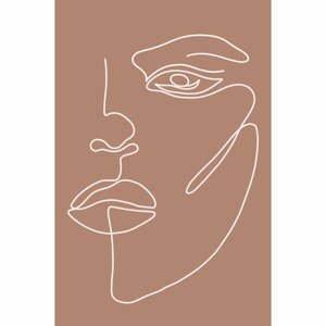Plagát na kvalitnom papieri Veronika Boulová Nora, 29 x 41 cm
