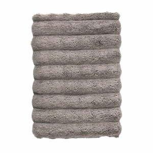 Tmavosivý bavlnený uterák Zone Inu, 100 x 50 cm