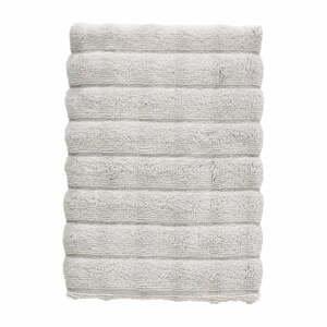 Svetlosivý bavlnený uterák Zone Inu, 70 x 50 cm