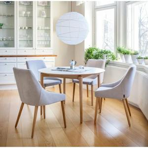 Biely jedálenský stôl Woodman Barbara, ø 115 cm