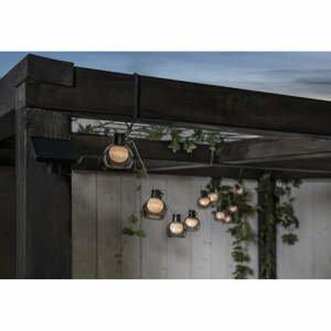Vonkajšia svetelná LED reťaz Best Season Smoky, 10 svetielok