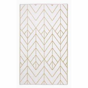 Béžovo-zlatý obojstranný vonkajší koberec z recyklovaného plastu Fab Hab Sydney, 120 x 180 cm