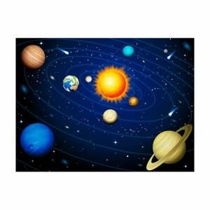 Veľkoformátová tapeta Artgeist Solar System, 400 x 309 cm