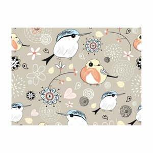 Veľkoformátová tapeta Artgeist Natural Pattern with Birds, 400 x 309 cm