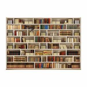 Veľkoformátová tapeta Artgeist Home Library, 200 x 140 cm