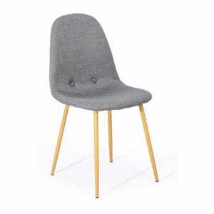 Súprava 2 svetlosivých jedálenských stoličiek loomi.design Lissy
