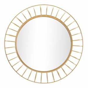 Nástenné zrkadlo v zlatej farbe Mauro Ferretti Glam Ring, ø 81 cm