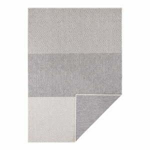 Svetlosivý obojstranný vonkajší koberec Bougari Maui, 80 x 150 cm