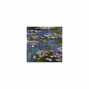 Reprodukcia obrazu Claude Monet - Water Lilies, 60 x 60 cm