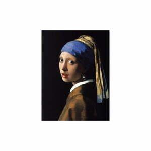 Reprodukcia obrazu Johannes Vermeer - Girl with a Pearl Earring, 40 x 30 cm