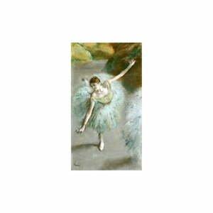 Reprodukcia obrazu Edgar Degas - Dancer in Green, 55 x 30 cm