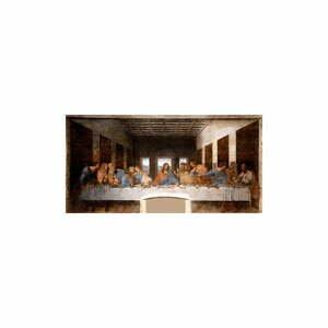 Reprodukcia obrazu Leonardo da Vinci - The Last Supper, 80 x 40 cm