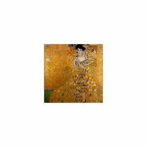 Reprodukcia obrazu Gustav Klimt - Adele Bloch Bauer I, 40 x 40 cm