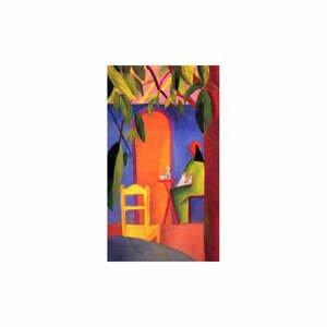 Reprodukcia obrazu August Macke - Turkish Cafe II, 50 x 30 cm