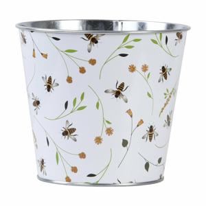 Kvetináč s potlačou včiel Esschert Design Bee, 1,85 l