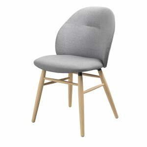 Sivá jedálenská stolička Unique Furniture Teno