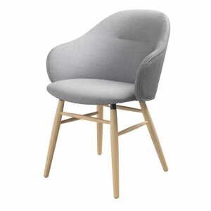 Sivá jedálenská stolička Unique Furniture Teno Oak