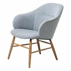 Sivé kreslo Unique Furniture Teno