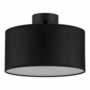 Čierne stropné svietidlo Bulb Attack Doce M, ⌀ 30 cm