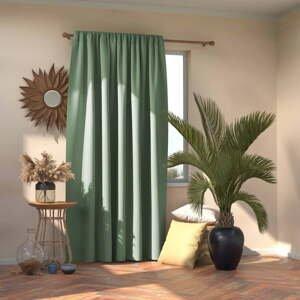 Zelený záves AmeliaHome Mint, 140 x 245 cm