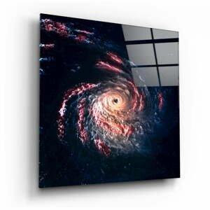 Sklenený obraz Insigne Black Hole, 100 x 100 cm