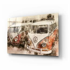 Sklenený obraz Insigne Vosvos Minibus, 110 x 70 cm