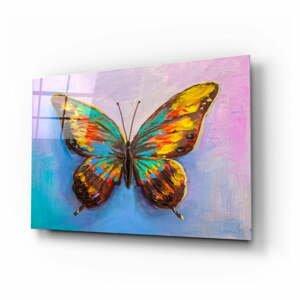 Sklenený obraz Insigne Kelebek, 110 x 70 cm